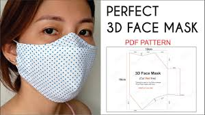 NO FOG ON GLASSES | Perfect <b>3D Face Mask</b> | Best Fit ...