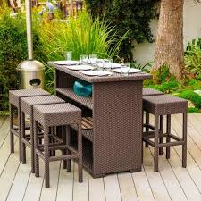 wicker bar height dining table: what do you think of the idea of pop up furniture for some it may seem a natural step in the direction of minimalist designbacking up the trend of less