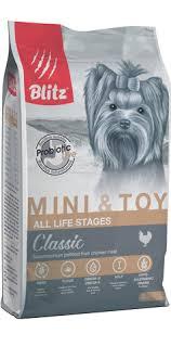 <b>BLITZ</b> сух. <b>корм</b> д/собак миниатюрных и мелких пород, <b>BLITZ</b> ...