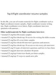 topflightcoordinatorresumesamples lva app thumbnail jpg cb