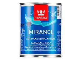 <b>Эмаль</b> Tikkurila <b>Miranol</b> база А белая 0,9 л купить по цене 949.0 ...