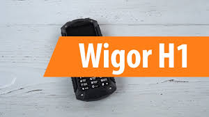 Распаковка сотового <b>телефона Wigor H1</b> / Unboxing <b>Wigor H1</b> ...