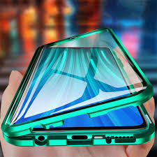 For Redmi Note 8 Pro Case <b>Magnetic</b> Double Sided Glass <b>Luxury</b> ...