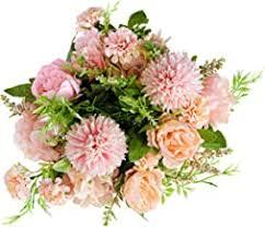 Silk Flower Bouquet - Amazon.co.uk
