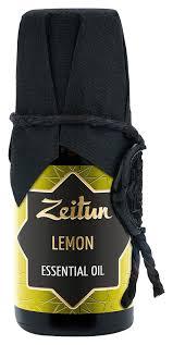 Купить <b>эфирное масло лимон lemon</b> essential oil 10мл Zeitun ...
