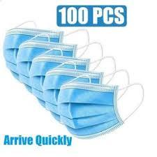 50/100Pcs Dust Respirator Protection Unisex Mouth Mask ... - Vova