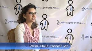 winn dixie interview cashier