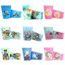 <b>12pcs</b> Cartoon <b>Unicorn</b>/Princess/Spiderman/<b>Mermaid</b>/Avenger ...
