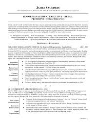 resume example   sample resume template for senior management    resume example sample resume template for senior management executive with chief merchandising officer professional experience