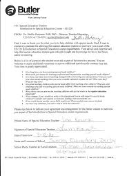 special education teacher interview on emaze signed butler letter