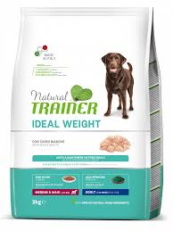 Ideal Weight <b>Medium</b>/Maxi <b>Adult</b> with White Meats | <b>Natural Trainer</b>