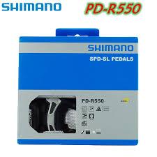 Original <b>Shimano PD R550 Self Locking</b> SPD Pedal Road Bike ...