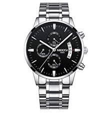 NIBOSI Men's Watches Chronograph Waterproof ... - Amazon.com