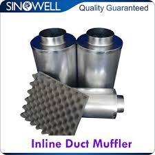 <b>Factory</b> Direct Supply Uv Passable Inline Duct <b>Exhaust Fan</b> Silencer ...