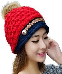 iSweven All Cap (4004) for <b>Girls</b> Women Boys Mens <b>Woollen</b> Knitted ...