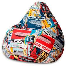 Характеристики модели <b>DreamBag Кресло</b>-<b>мешок New York</b> XL ...