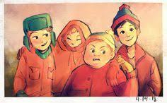 Kyle Broflovski, Stan Marsh, Eric Cartman, Kenny McCormick ...