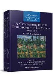 A <b>Companion</b> to the Philosophy of Language, 2 Volume Set, 2nd ...