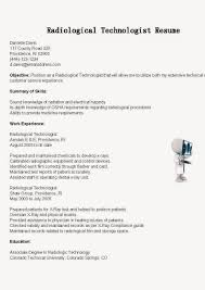 xray tech resume xray tech resume 4649