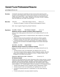 examples of resumes resume for students sample format examples of resumes resume examples summary for resume example resume samples cover intended for professional