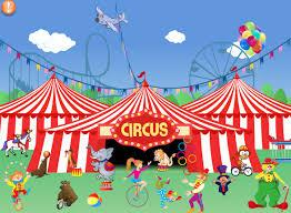 http://www.pequered.com/juego-circo-online/