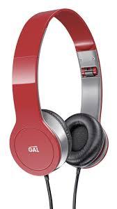 <b>Наушники GAL SLR-180RD</b> красные: оптовые цены в METRO ...