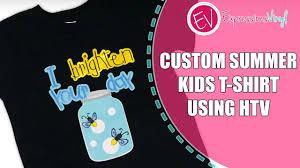Custom <b>Summer Kids T-Shirt</b> Using Siser Heat Transfer Vinyl ...