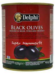 <b>Маслины</b> с косточкой в рассоле Super Mammouth 91-100 820г ...
