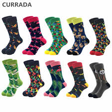 <b>10pairs</b>/<b>lot</b> Brand Quality Mens Socks Combed Cotton colorful ...