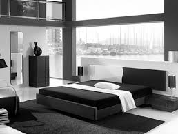 awesome black white glass wood modern design bedroom decorating ideas cool modern room black mattres wall awesome black white wood glass