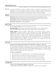 resume samples for it professionals  professional resume samples    resume samples for it professionals