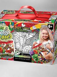 Косметичка-<b>раскраска Danko Toys</b> My Color Case Бабочки ...