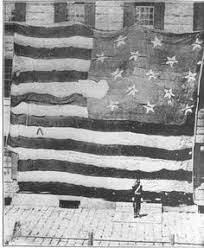 """「June 14, 1777, during the American Revolution, the Continental Congress adopts the national flag that comes to be known as the """"Stars and Stripes.""""」の画像検索結果"""