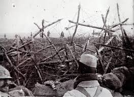 unpublished photos of world war i business insider the trenches in which iers spent most of their time were surrounded by razor wire to limit the effectiveness of an enemy trying to overrun the