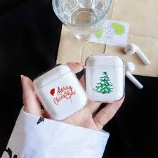 Merry <b>Christmas</b> Tree <b>Headphone Case For</b> Apple airpods Fashion ...