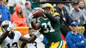 Packers CB Davon House intercepts Saints QB Drew Brees