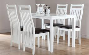 small dining tables sets:  dining room milton white dining table and  java chairs set dining room sets ikea