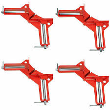 "<b>4pcs 90 Degree Right</b> Angle Miter Corner Clamp 3"" Capacity Picture ..."