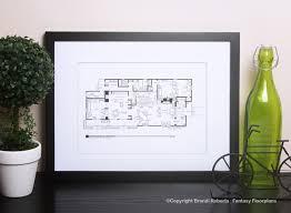 Brady Bunch house floor planFantasy Floorplan™ for The Brady Bunch Residence of Carol  amp  Mike Brady   st Floor  ›