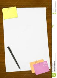 colored memo and white blank note paper royalty stock colored memo and white blank note paper