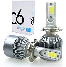 Speedwav <b>C6</b> H4 <b>Car LED Headlight</b> Bulbs Headlamps Fog Lights ...