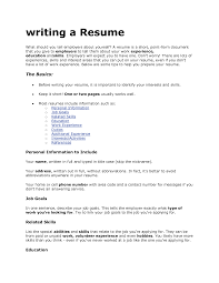 what to include on a resume tk category curriculum vitae