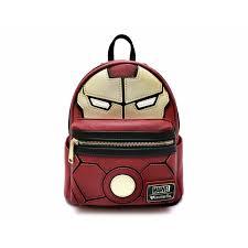 Loungefly Mini <b>Backpack Marvel</b>: Iron Man