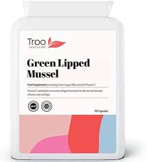 <b>Green Lipped</b> Mussel Supplement (500mg) - 90 Capsules | High ...