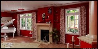 room paint red: living room wall paint color ideas