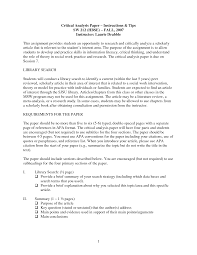 critical analysis essay academic essay literary analysis mla format examples