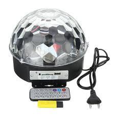 <b>Светодиодный диско-шар Veila</b> Magic Ball Light MP3 1597, цена ...