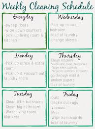 best photos of cleaning schedule printable cleaning schedule printable cleaning schedule printable house cleaning schedule template via