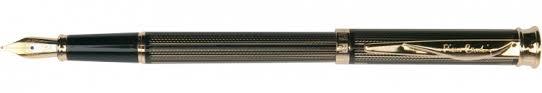 Перьевая <b>ручка Pierre Cardin</b> Tresor гравировка, черный лак ...