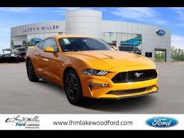 New 2018 Ford Mustang GT Coupe for sale in LAKEWOOD, CO ...